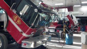 Fire truck repair West Shore Fire
